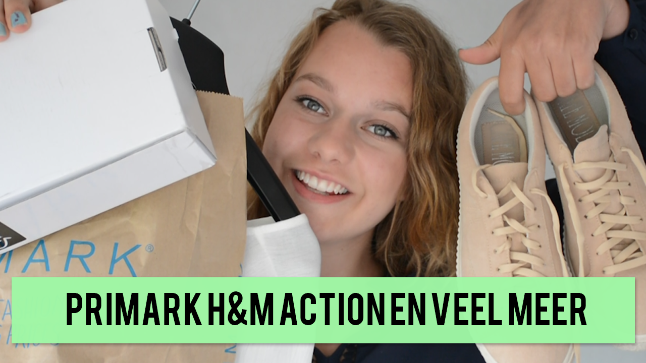 shoplog primark hm action en rimmel london
